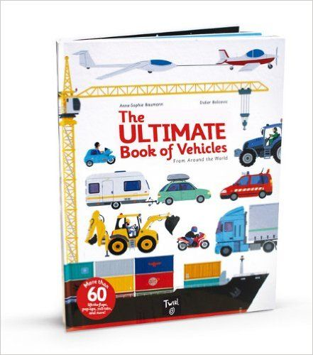 The Ultimate Book of Vehicles: From Around the World: Amazon.de: Didier Balicevic: Fremdsprachige Bücher
