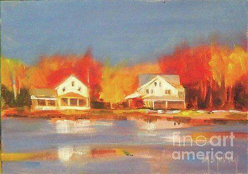 Atsion Lake by Mary Hubley