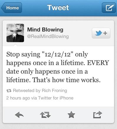 Mind Blowing Tweet