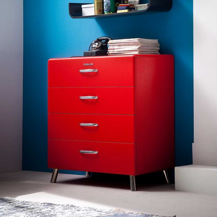 die besten 25 kommode rot ideen auf pinterest. Black Bedroom Furniture Sets. Home Design Ideas