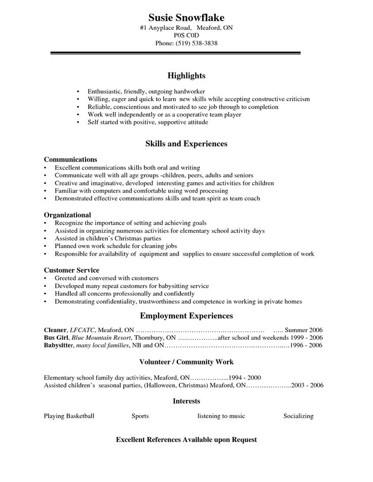 45 best alt ideas images on Pinterest Anxiety attack relief, Bag - teenage resume