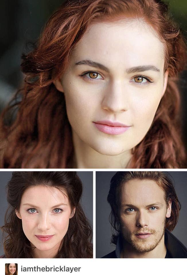 Sophie Skelton as Brianna Fraser -- A+ Casting