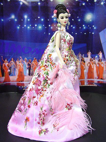 OOAK Barbie NiniMomo's Miss Japan 2009