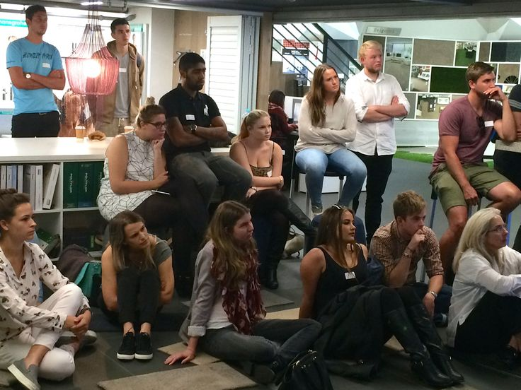 @designtime1 and @bhcdesignschool students listening to the #interiordesign presentations.