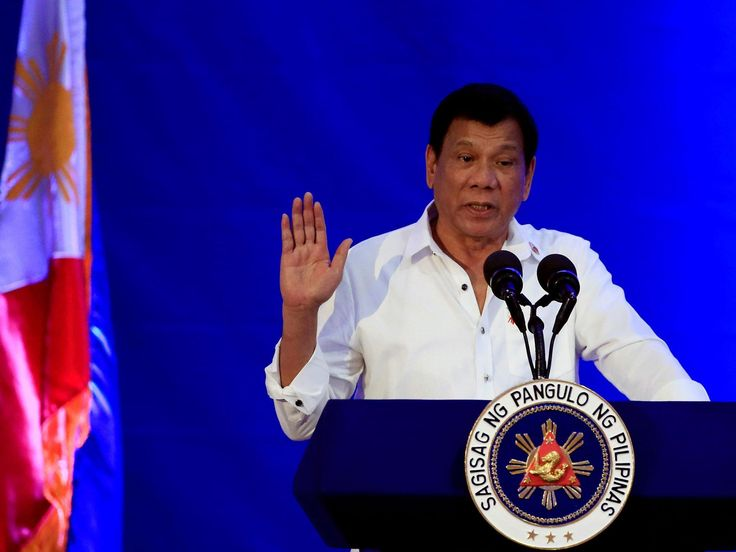 Rodrigo Duterte: If Isis comes to the Philippines, forget about human rights