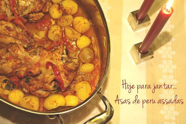Hoje para jantar ...: Jantar low cost - Asas de peru no forno