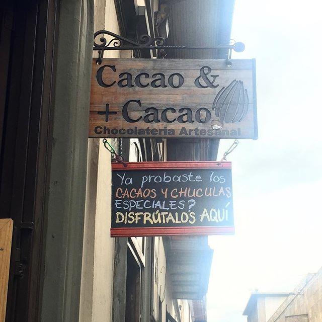 """¿Te gusta el chocolate? ¡Qué estás esperando! Ven a """"Cocoa & más Cocoa"""" y conoce más sobre el chocolate. Visita: www.encontrastela... #EncontrasteLaCandelaria #Bogotá #Colombia #Candelaria  Fotografía tomada por: Lorena Correa"""