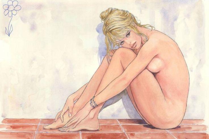 Milo Manara Brigitte Bardot