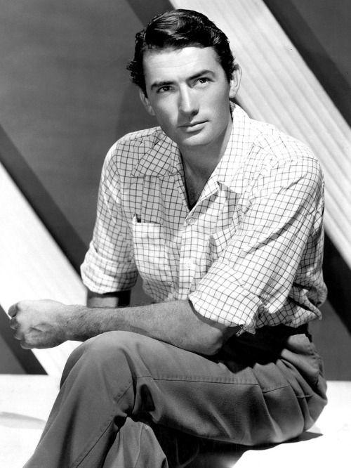 Gregory Peck, è migliorato invecchiando. Modern Girls & Old Fashioned Men