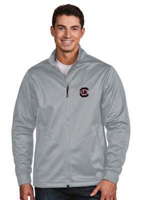 Antigua Silver South Carolina Mens Golf Jacket