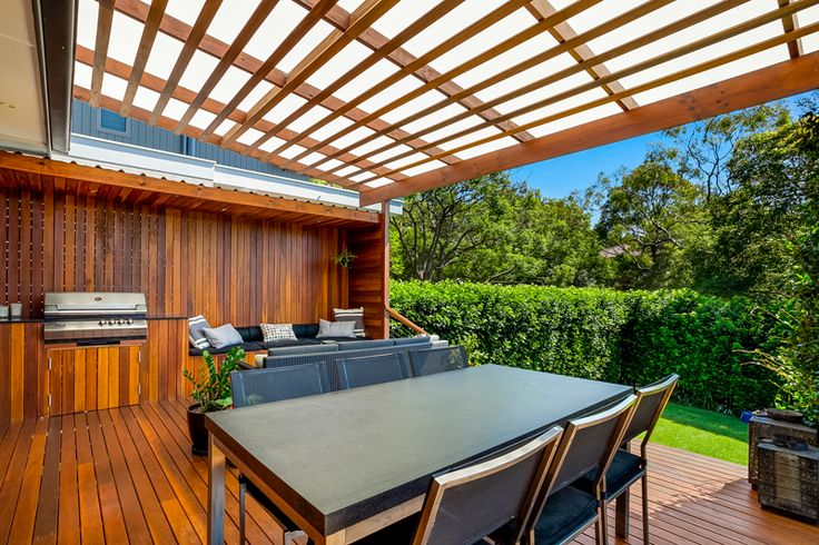 Timber Deck and Outdoor Dining Area