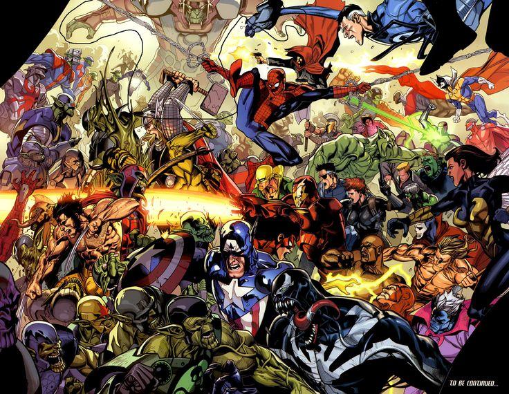 marvel universe - Marvel Comics