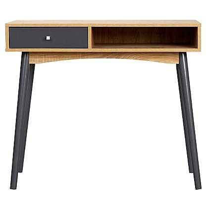 George Home Oak Effect Desk | Home & Garden | George at ASDA