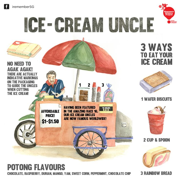 Ice-cream Uncle in Singapore