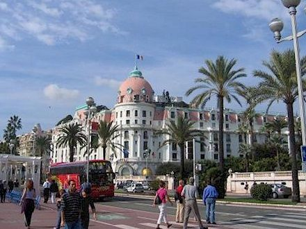 Hotel Negresco In Nice When We Visited 20 Years Ago Michael Jackson Was Staying