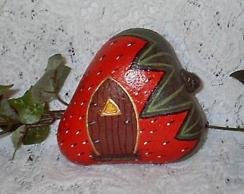 River Rock Strawberry Houses | Flickr - Photo Sharing!
