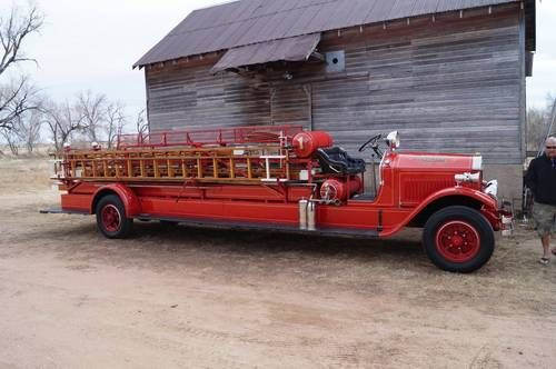 1929 American LaFrance Fire Truck For Sale on Car And Classic UK ...