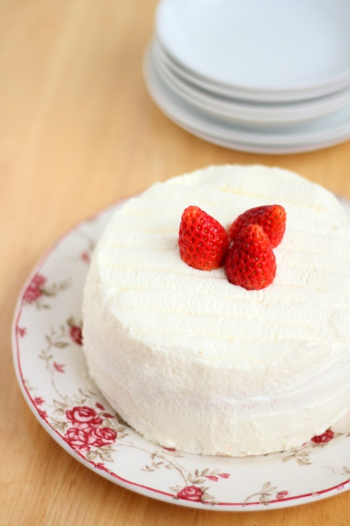 Japanese Strawberry Shortcake | Strawberry Baking | Pinterest