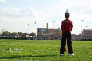 Marching Band Drum Major. Senior Picture.. Could do something like this for other sports