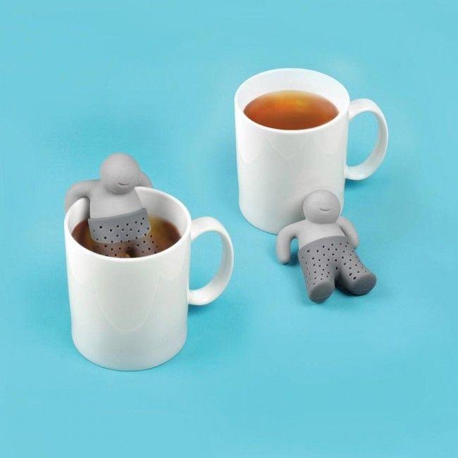 SÍTKO NA ČAJ FRED MR.TEA  FRED Mr.Tea - silikonové Sítko na čaj.  Jednoduchá, vtipná a praktická volba louhování vašeho čaje.  Dodáváno v papírové krabičce s ilustrativním potiskem.