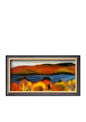 Art.com Assorted Lake George Autumn 1927 Framed Art Print - Online Only