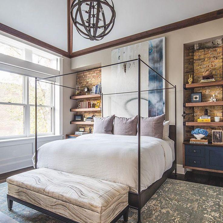 "Luxe Interiors + Design (@luxemagazine) on Instagram: ""The perfect day to sleep in #LuxeAtHome. @sandow | Photography: Nick Johnson; Architecture: Raino-…"""