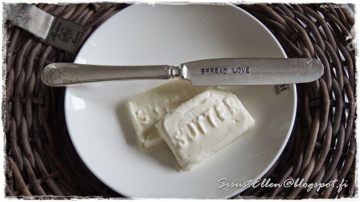 SisustEllen-blogissa arvotaan Belovedin SPREAD LOVE -veitsi <3