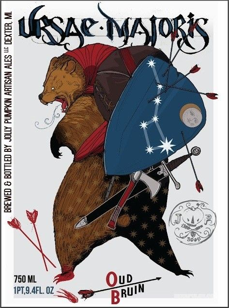 Jolly Pumpkin Ursae Majoris Oud Bruin now available exclusively in BP sponsor, The Rare Beer Club