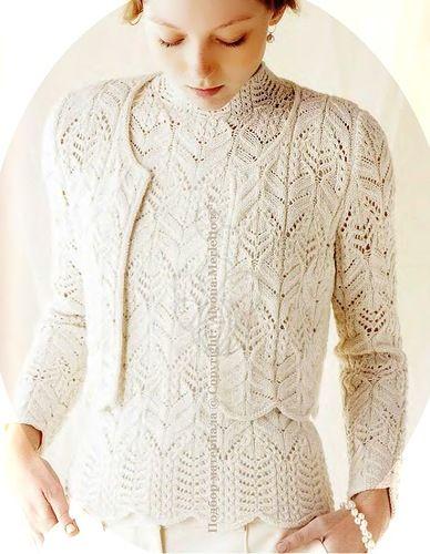 Жакетик спицами ...от Let's knit