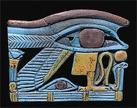Eye of Horus  One of the best-preserved temples in Egypt today was dedicated to Horus. It is located in Upper Egypt at a town called Edfu.