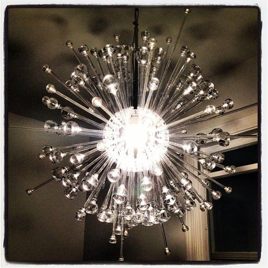 Transform the IKEA Stockholm Lamp into a Sputnik-Style Chandelier Ikea Hackers | Apartment Therapy