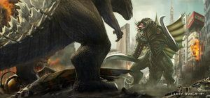 Godzilla vs Gigan by NoBackstreetboys