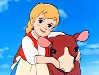 Makiba no Shōjo Katori - en VF Cathy la petite fermière, un anime très réaliste et très triste parfois.