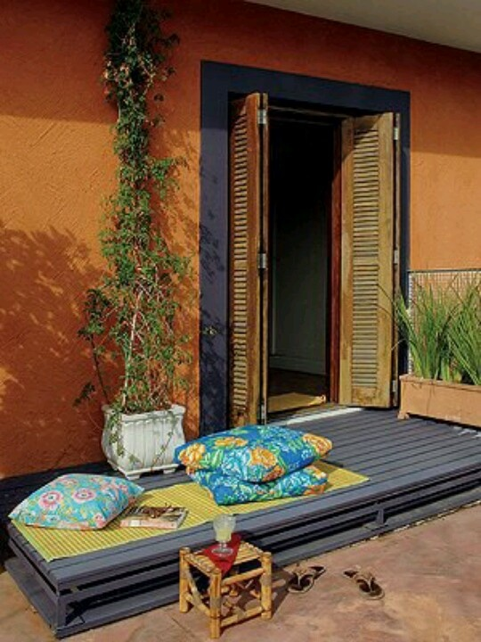 72 best images about diy recyclage de palettes et caisses. Black Bedroom Furniture Sets. Home Design Ideas