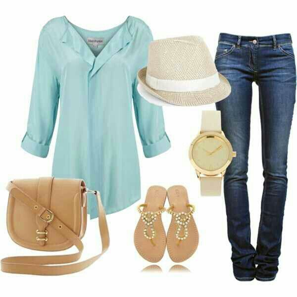 Cute spring outfit...thinking ahead alre already!!