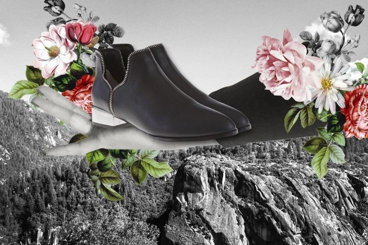 SENSO x The Blonde Salad boots.