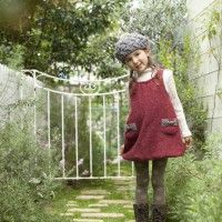 Inspiration for jumper turned into kid's dress