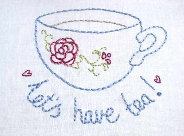1000+ Images About Embroidery~Tea On Pinterest