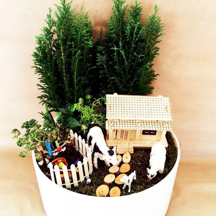 Çiftlik Hayali | Kişiye Özel Tasarımlar | ÇiçekveBahçe, Kişiye Özel Minyatür Bahçe, Teraryum