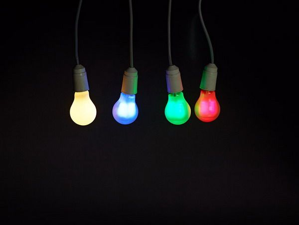 Home Lighting Decoration Colored Light Bulbs Colour Light And Error Art Pinterest Home
