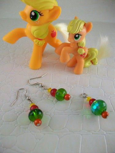 Applejack Cosplay Earrings My Little Pony Friendship is Magic | SGalindoDesign - Jewelry on ArtFire