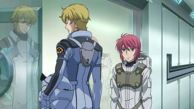 Graham Aker and Feldt Grace, they might were different but always have relationship with Setsuna F. Seiei