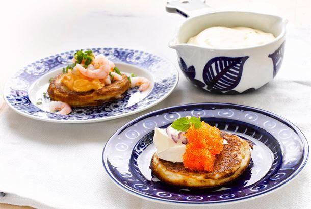 Muhkeat rahkaletut (Pikablinit) ✦ Blinit kuuluvat alkuvuoden ruokaherkkuihin. Nauti nämä osittain tattarijauhoista tehdyt rahkaletut blinien asemasta. Mehevät rahkaletut maistuvat niin suolaisten kuin makeiden täytteiden kanssa. http://www.valio.fi/reseptit/muhkeat-rahkaletut-pikablinit-1/ #resepti #ruoka