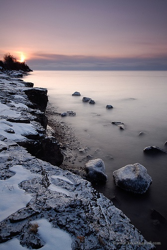 My soul is in desperate need of some time on the north shore. Frosty Morning on Superior by Bryan Hansel