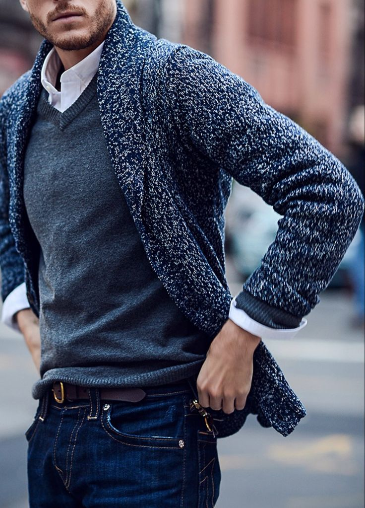 Beat the weather with double the sweater!
