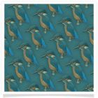 kingfisher backing paper pack teal pale free
