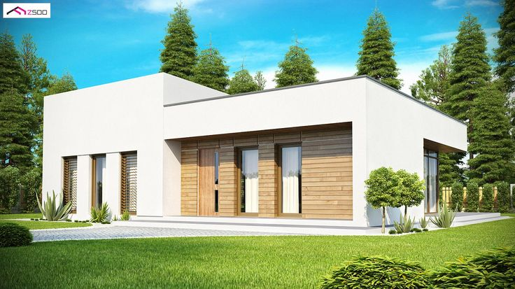 Zx35 to wyjątkowy dom z kategorii projekty domów parterowych