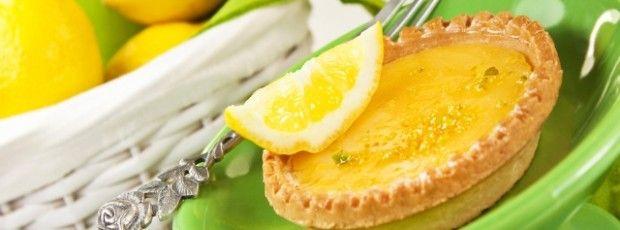 Osvěžující citronový koláč