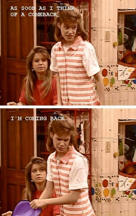 kimmy gibbler/ full house/ honest funny and awesomely coiffed