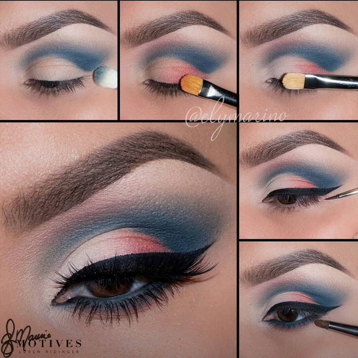 What you think? We'd say a #4thofjuly appropriate look Thank you @elymarino for putting together this stunning tutorial | motivescosmetics
